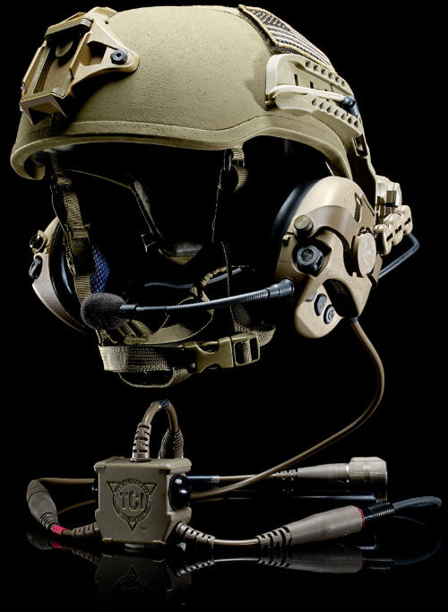 Safariland® PROTECH® Tactical Helmet with Liberator™ Headset