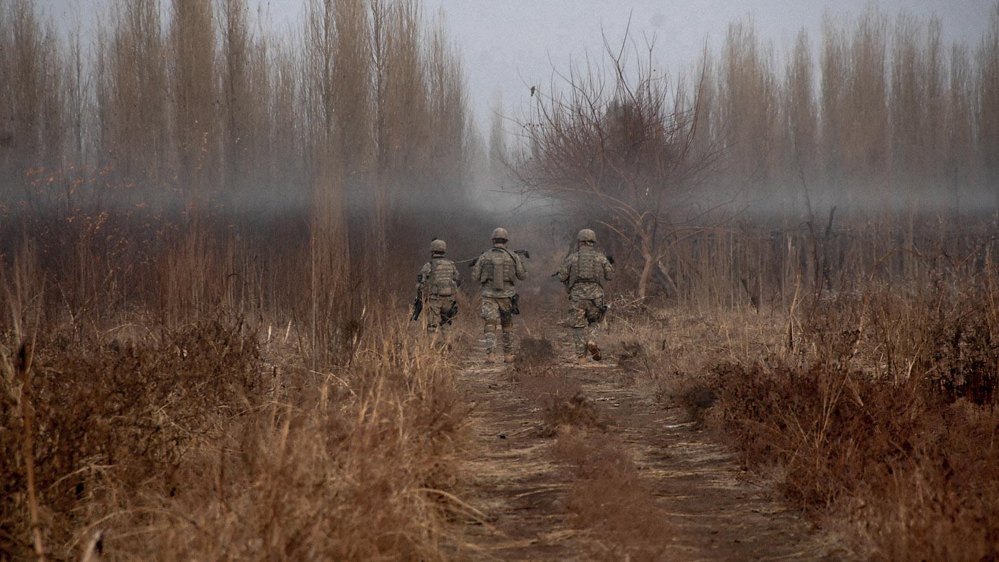 US Military on patrol