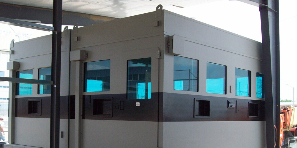 PROTECH® Armor Systems Guard Booths
