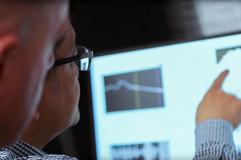 Safariland® Acoustics Lab - Engineers Analyzing Graphs